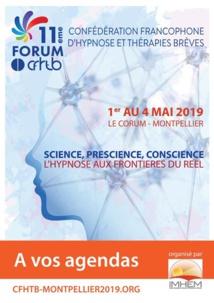 Congrès d'Hypnose Médicale de Montpellier, le Cabinet de Paris 11 y sera présent