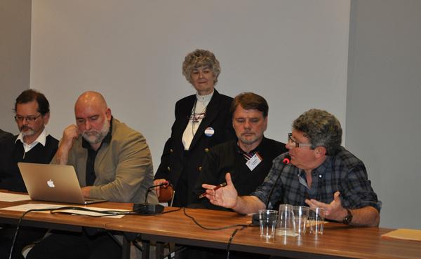Dr Thierry Servillat, Antoine Bioy, Christine Guilloux, Dr Christian Martens & Laurent Gross