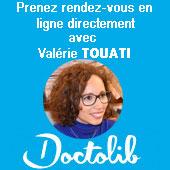 Prendre rdv pour une consultation avec Valérie Touati-Gross, Hypnothérapeute