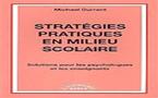 Stratégies pratiques en milieu scolaire. Solutions pour les psychologues et les enseignants. DURRANT M.