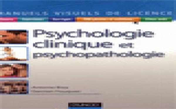 Livre Psychologie: Psychologie clinique et psychopathologie. Antoine Bioy